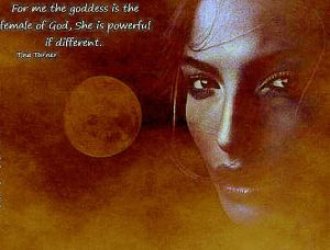 The Feminine Divine is equal to the Masculine but Her attributres are different.