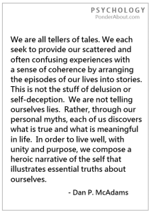 As writers we truly do struggle to seek and provide a sense of coherence in our offerings.