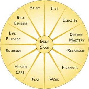 Whole Person Healing includes balance within the wheel of life.