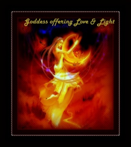 Goddesses Offering Love and Light