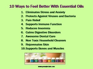 Essential oils are a simple, effective method to improve and enhance health and well-being.